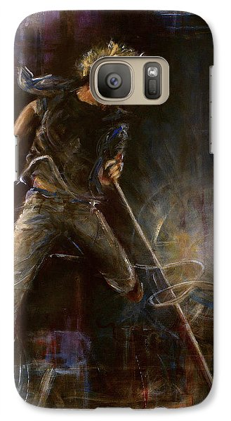 Vedder Galaxy Case by Josh Hertzenberg