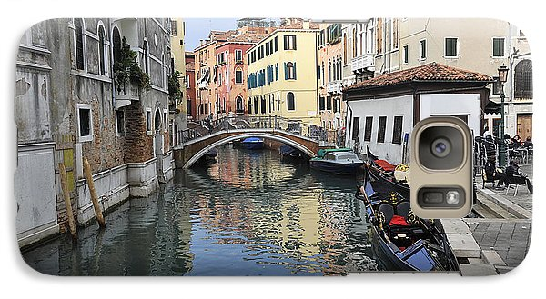 Galaxy Case featuring the photograph Venice Italy by John Jacquemain