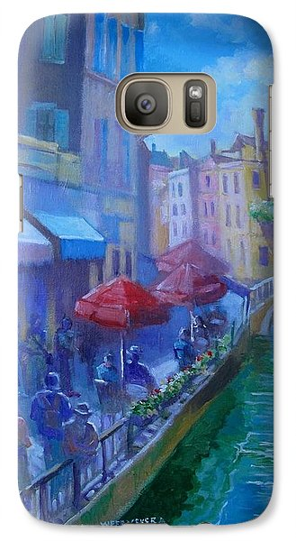 Galaxy Case featuring the painting Venice  Italy by Paul Weerasekera