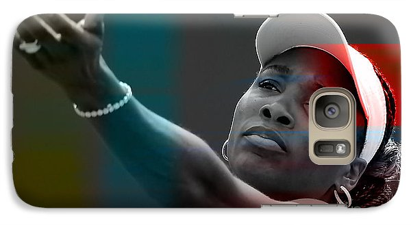 Venus Williams Galaxy S7 Case by Marvin Blaine