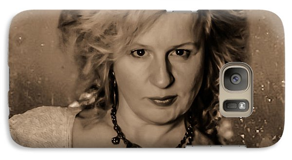 Galaxy Case featuring the photograph Victorian Portrait by Ray Congrove