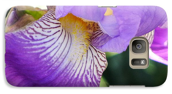 Galaxy Case featuring the photograph Violet by Nora Boghossian