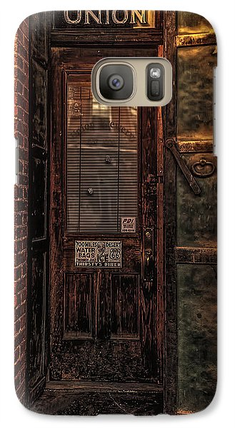 Galaxy Case featuring the photograph Virginia City Brewery by Nancy Marie Ricketts