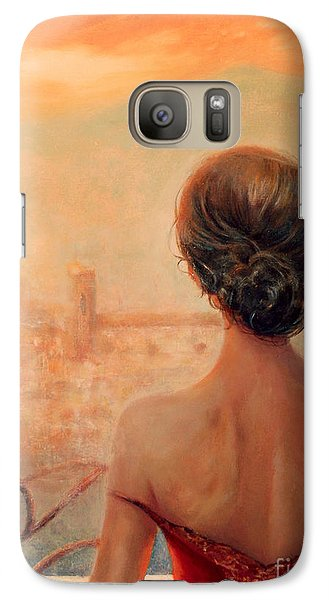 Galaxy Case featuring the painting Visions Of Florence by Michael Rock