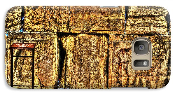 Galaxy Case featuring the photograph Wailing Wall by Doc Braham