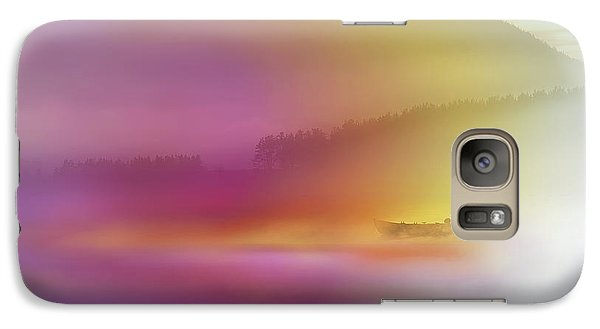 Colours Galaxy S7 Case - Watercolor Seascape by Heidi Westum