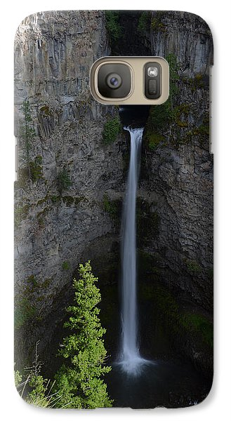 Galaxy Case featuring the photograph Waterfall In Banff by Yue Wang