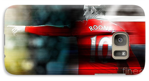 Wayne Rooney Galaxy Case by Marvin Blaine