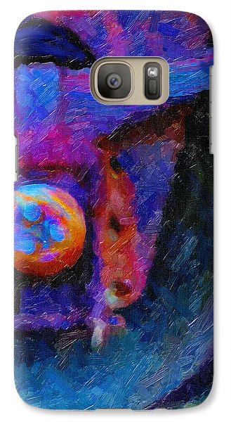 Galaxy Case featuring the digital art Weathered by Chuck Mountain