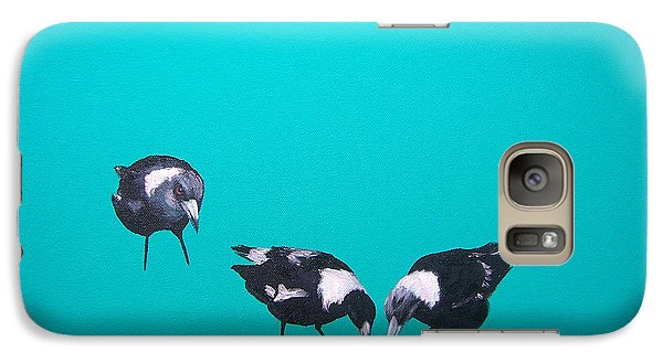 What About Me Galaxy Case by Jan Matson