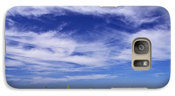 Galaxy Case featuring the photograph Where Land Meets Sky by Keith Armstrong