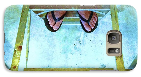 Galaxy Case featuring the photograph Who's Feet by Paul Cammarata