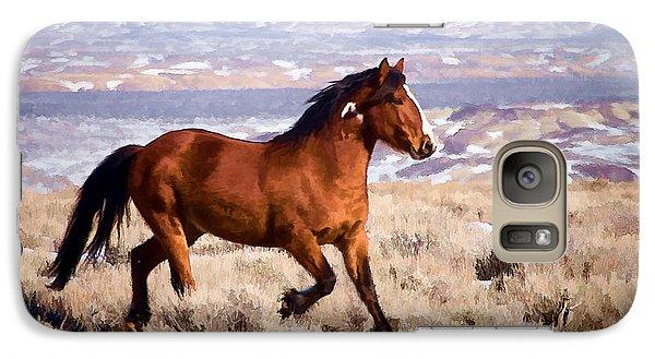 Eagle - Wild Horse Stallion Galaxy S7 Case