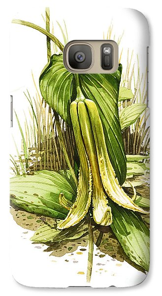 Galaxy Case featuring the painting Wild Oats by Bob  George