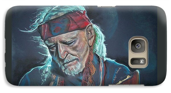 Galaxy Case featuring the pastel Willie by Peter Suhocke