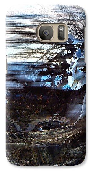 Galaxy Case featuring the photograph Wind Swept by Glenn Feron
