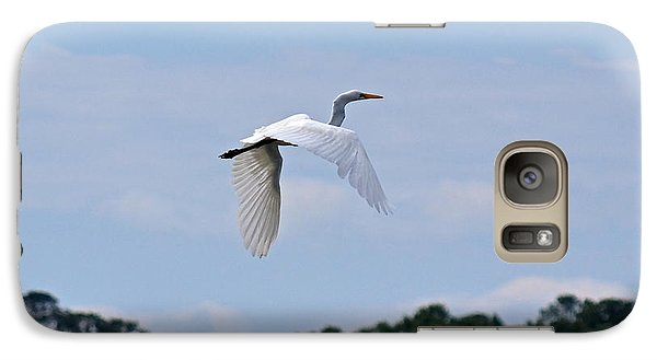 Galaxy Case featuring the photograph Wings II by Carol  Bradley