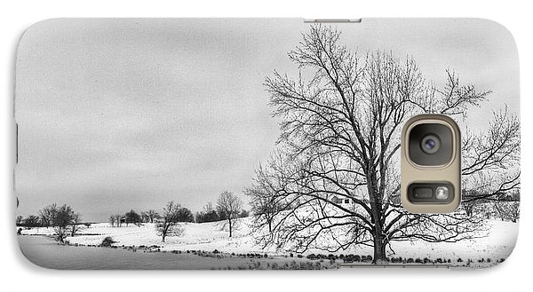Galaxy Case featuring the photograph Winter In Kentucky by Wendell Thompson