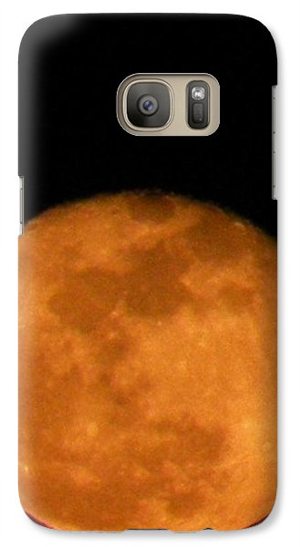 Galaxy Case featuring the photograph Winter Moon by Carlee Ojeda