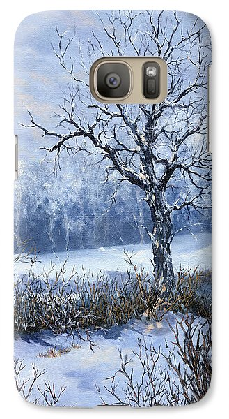 Galaxy Case featuring the painting Winter Slumber by Lynne Wright