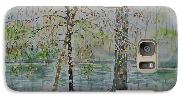 Galaxy Case featuring the painting Woodmans Pond by Alfred Motzer