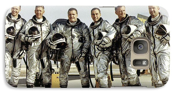 Astronaut Galaxy S7 Case - X-15 Aircraft Test Pilots by Nasa