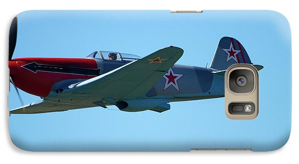 Yakovlev Yak-3 - Wwii Russian Fighter Galaxy Case by David Wall