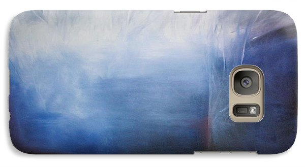 Galaxy Case featuring the painting YOD by Carrie Maurer