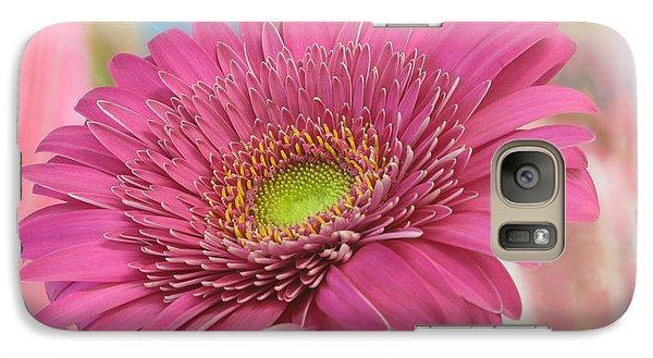 Gerbera Daisy Macro Galaxy S7 Case