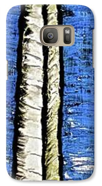Galaxy Case featuring the painting 10-001 by Mario Perron