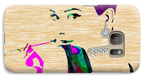 Audrey Hepburn Diamond Collection Galaxy Case by Marvin Blaine