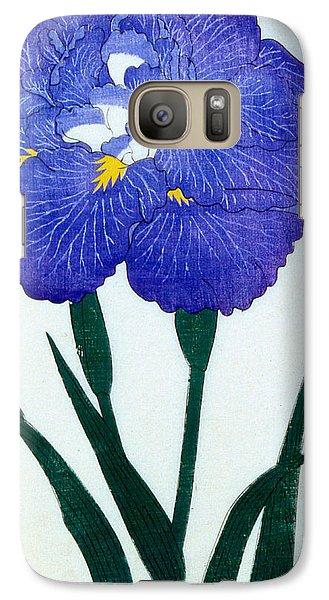Japanese Flower Galaxy S7 Case by Japanese School
