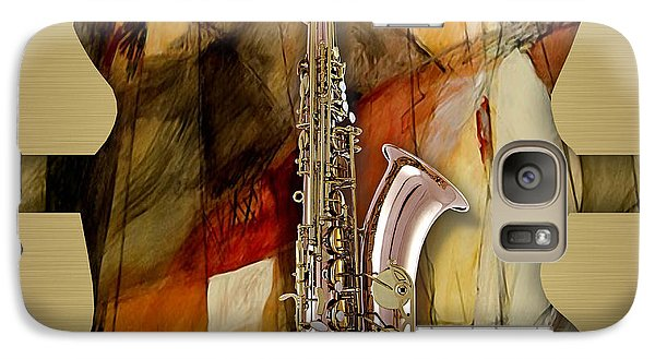Saxophone Collection Galaxy S7 Case