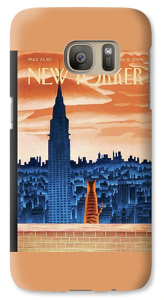 New Yorker January 12th, 2009 Galaxy S7 Case