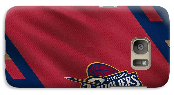 Cleveland Cavaliers Uniform Galaxy S7 Case by Joe Hamilton