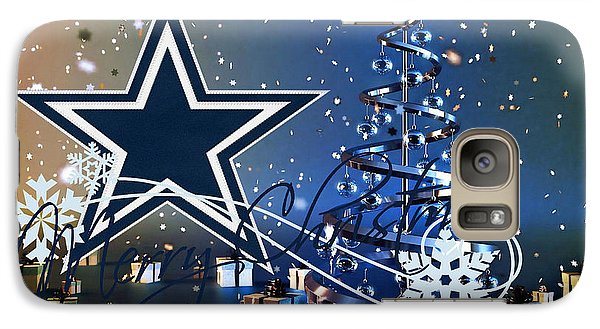 Dallas Cowboys Galaxy Case by Joe Hamilton