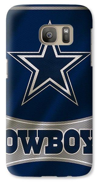 Dallas Cowboys Uniform Galaxy S7 Case by Joe Hamilton