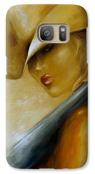Galaxy Case featuring the painting 12 Gauge Closeup by Dina Dargo