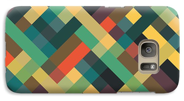 Geometric Galaxy S7 Case by Mike Taylor