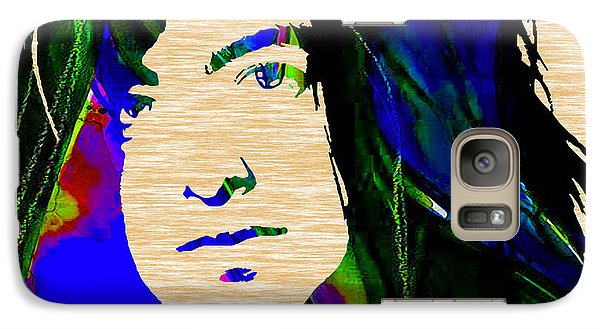 Jimmy Page Collection Galaxy Case by Marvin Blaine