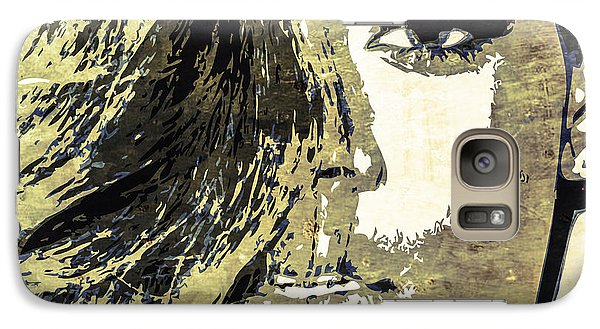 Galaxy Case featuring the digital art Rihanna by Svelby Art