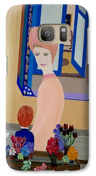 Galaxy Case featuring the painting 12 Rue Cadet by Bill OConnor