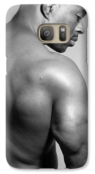 Galaxy Case featuring the photograph The Poser by Jake Hartz
