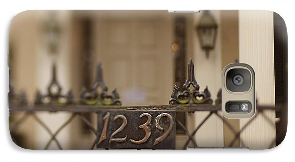 Galaxy Case featuring the photograph 1239 Gate by Heather Green