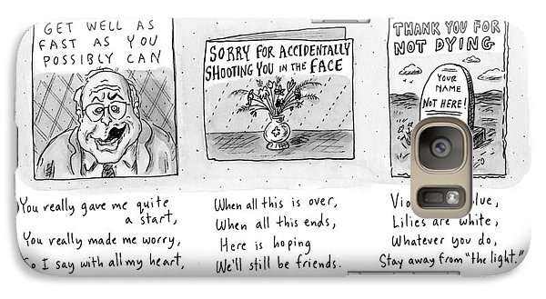 Untitled Galaxy Case by Roz Chast