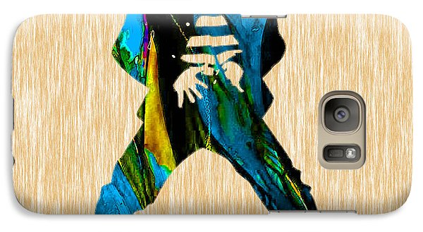 Elvis Presley Galaxy Case by Marvin Blaine