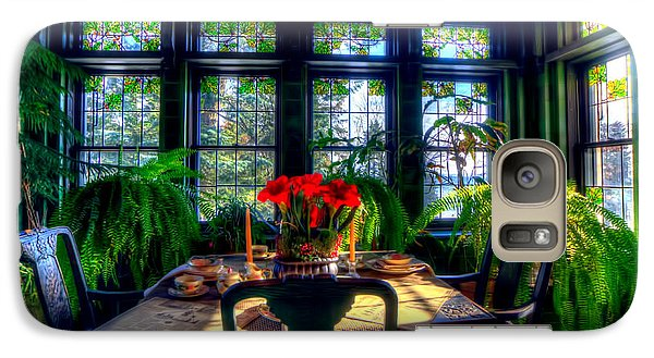 Glensheen Mansion Duluth Galaxy S7 Case by Amanda Stadther