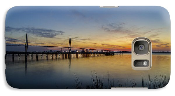 Galaxy Case featuring the photograph Peacefull Hues Of Orange And Yellow  by Dale Powell