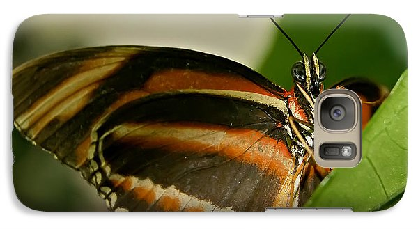 Galaxy Case featuring the photograph Butterfly by Olga Hamilton