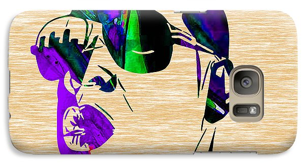 Jay Z Collection Galaxy Case by Marvin Blaine